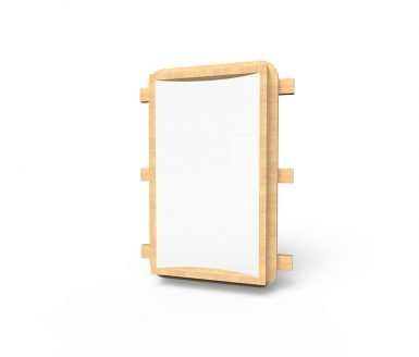 MISC027 - Mirror Board Convex (Thin) - Wall Mounted copy