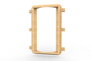 MISC029 - Mirror Board Convex (Wide) - Wall Mounted copy