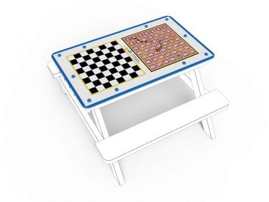 MISC034 - Tabletop - Small - Snakes and Ladders - Chess copy