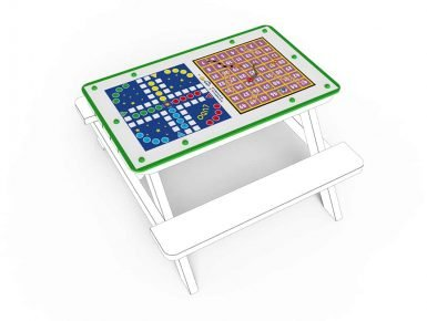 MISC039 - Tabletop - Small - Snakes and Ladders and Ludo - 1 copy
