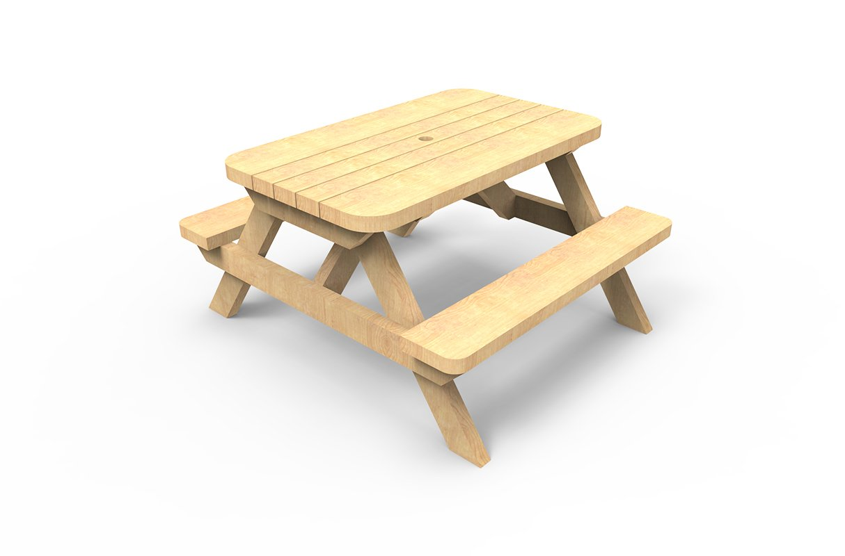 Picnic Table Small ESP School Playground Equipment