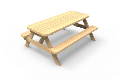QF007 - Picnic Table - Large - Freestanding copy