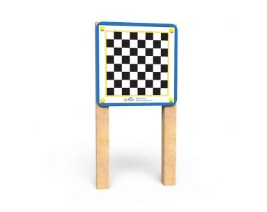 WB010 - Magnetic Game Board -Chess - Post Mounted copy
