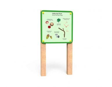 WB019 - Nature Board - Post Mounted - Collection Point copy
