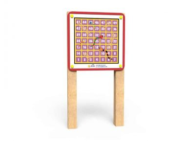 WB039 - Magnetic Game Board -Snakes and Ladders - Post Mounted copy