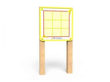 WB041 - Magnetic Game Board -Noughts and Crosses - Post Mounted copy