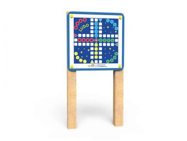WB042 - Magnetic Game Board -Ludo - Post Mounted copy