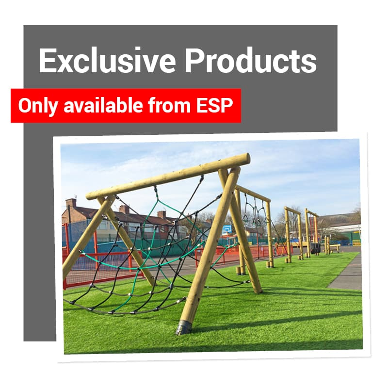 Exclusive Play Equipment Products and Services for your School Playground from ESP.