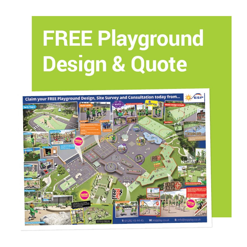 Free playground design service for schools and play area providers