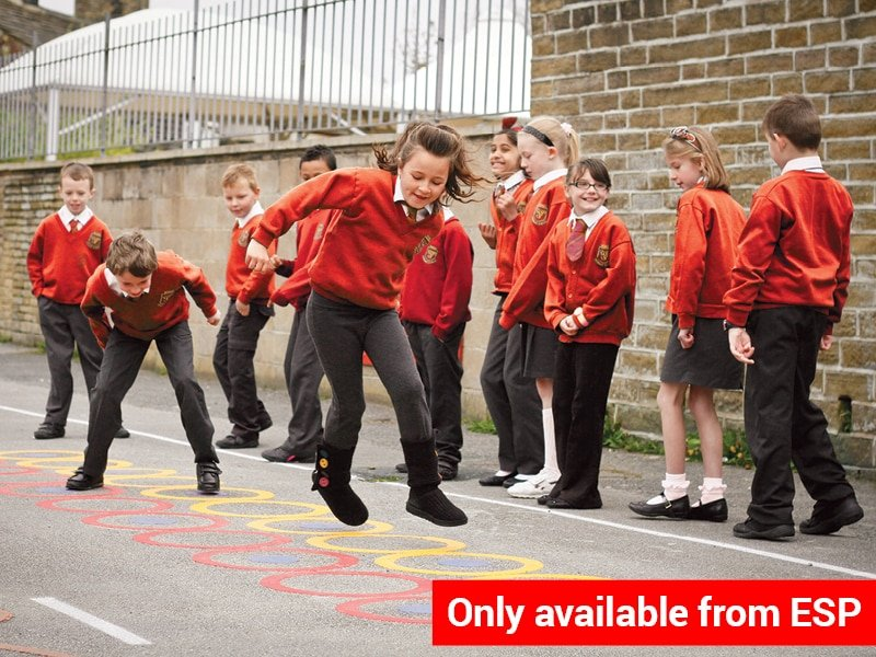 Famous 5 Playground Markings for Multi-skills play and training