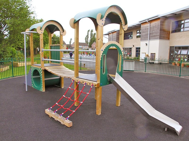 Playtowers for school play areas with all age ranges and budgets catered for.
