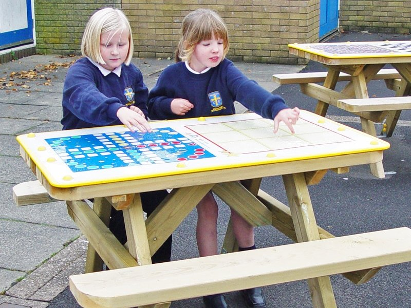 Wall Boards and Tabletop Games for fun playtime activities.
