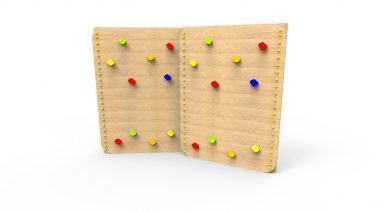 AF035 - Traversing Wall - Wooden - 2 Section copy