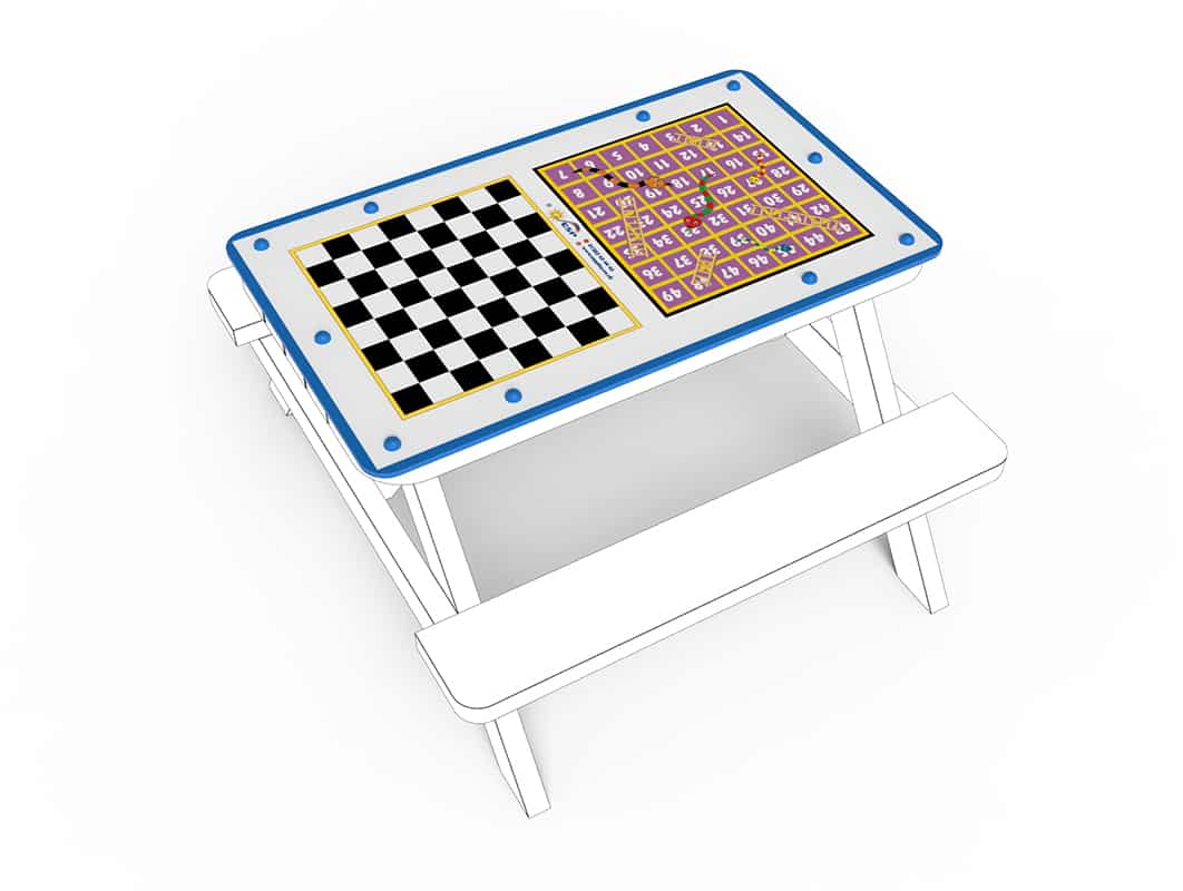 Small Table Top Snakes Ladders Chess Incl Game Pieces