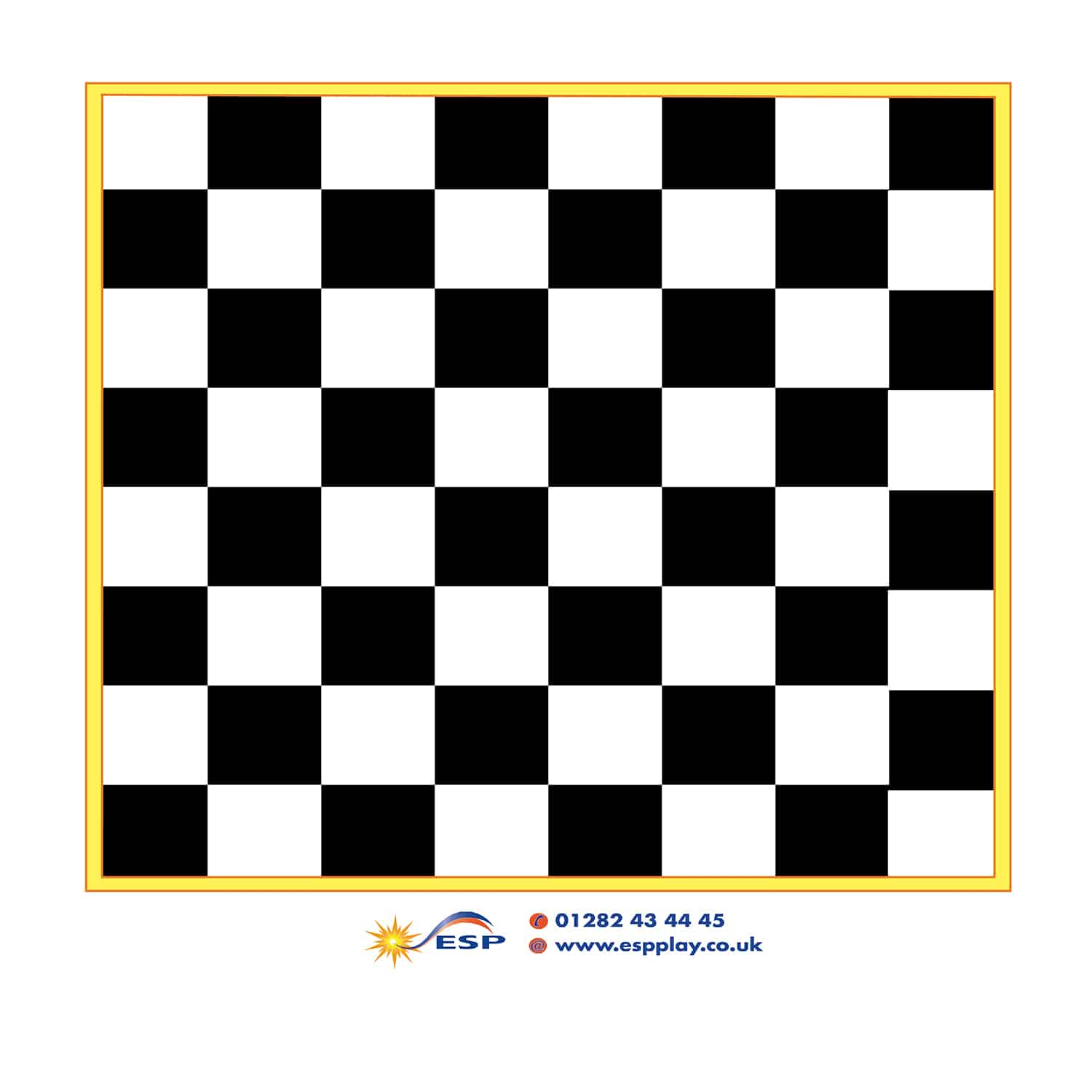 Magnetic Game Board Chess Esp School Playground