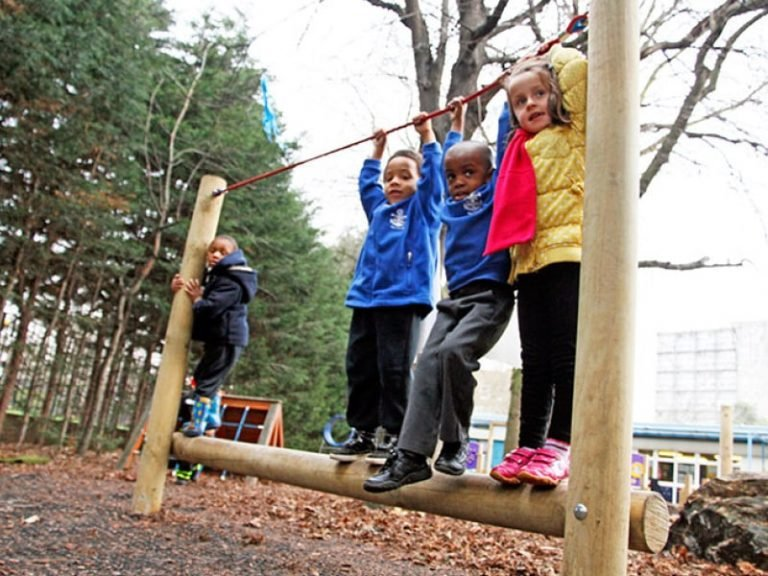 early years physical climbing activity playground equipment