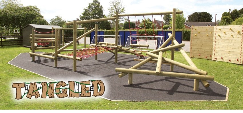 tangled climbing frame