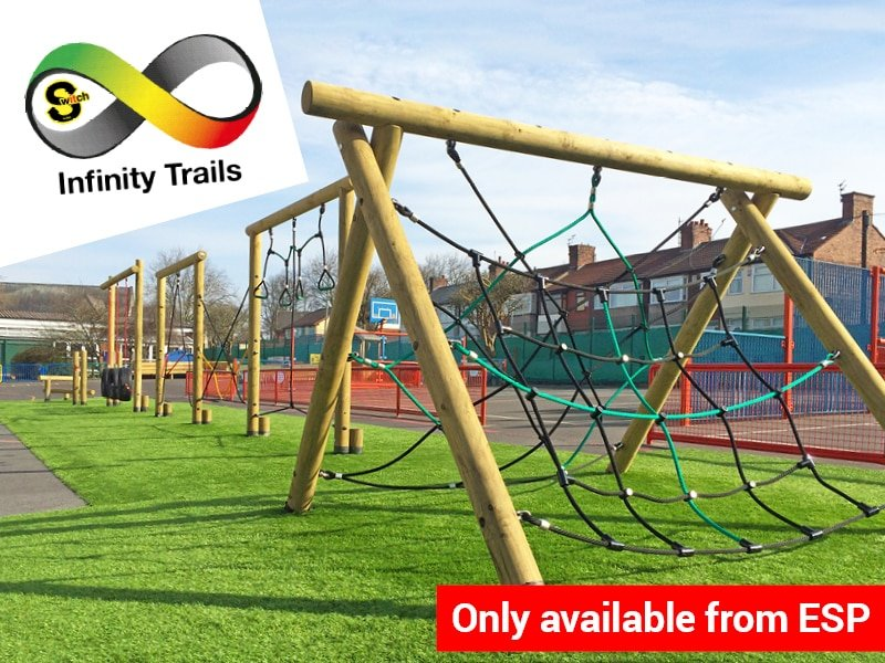 Playground Trim Trails, Infinity Interchangeable Trim Trail Range