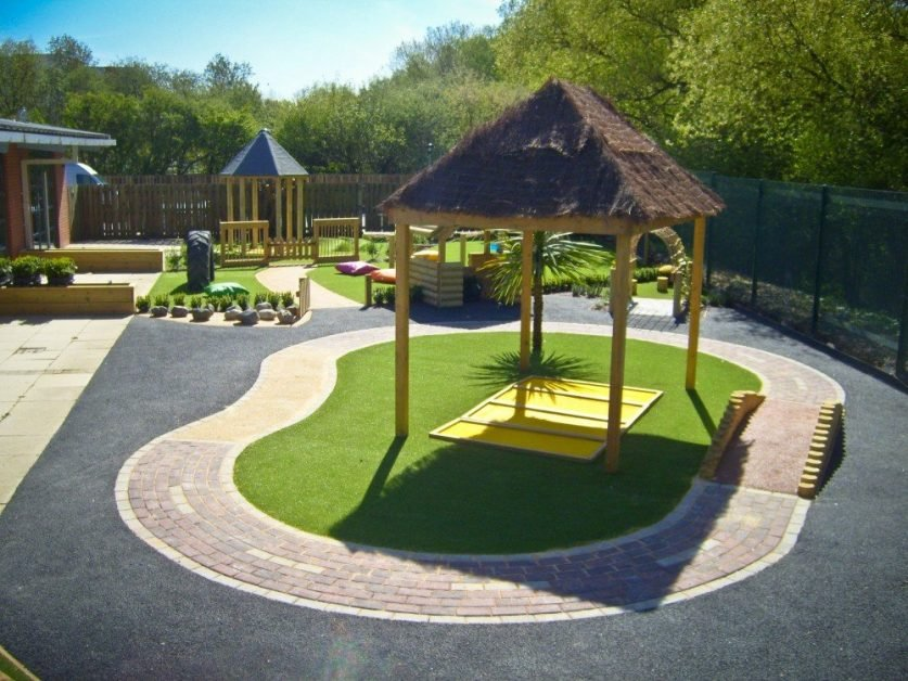 block paving roadway designs for eyfs play areas from ESP