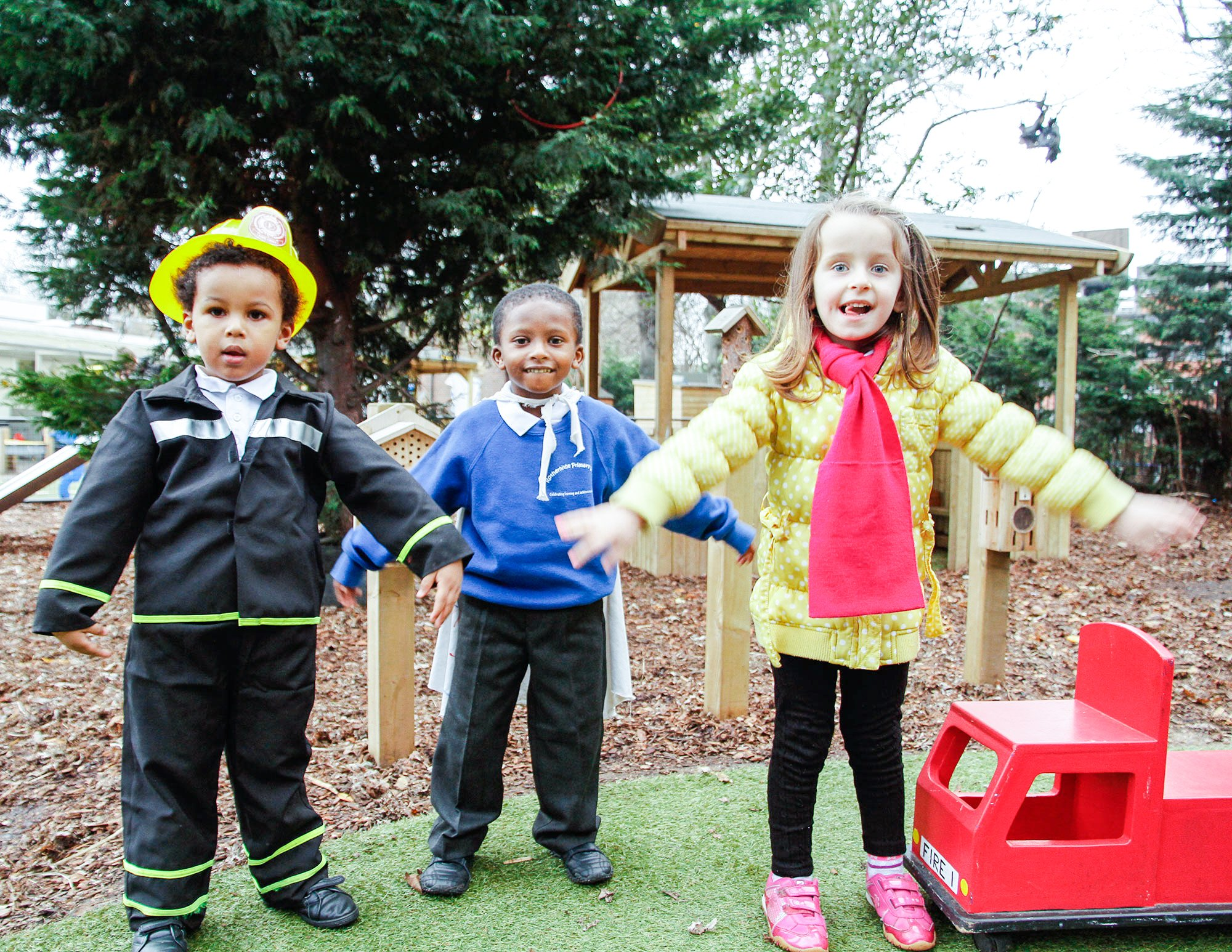 Stimulating EYFS Playground