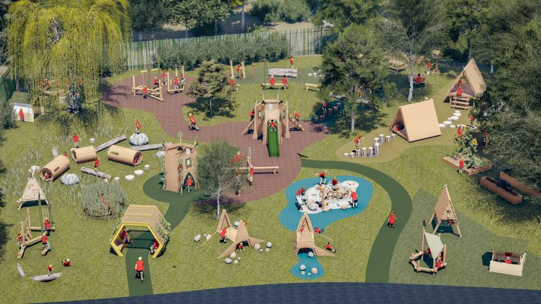 wild wood outdoor play equipment