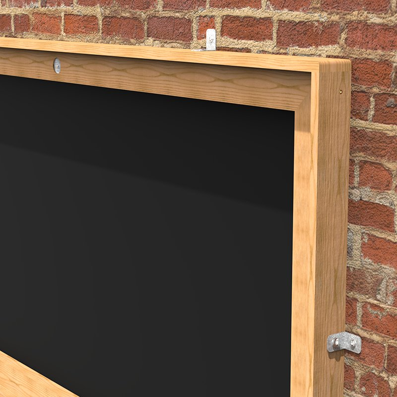 Misc093 Giant Chalkboard Wall Mounted Esp School