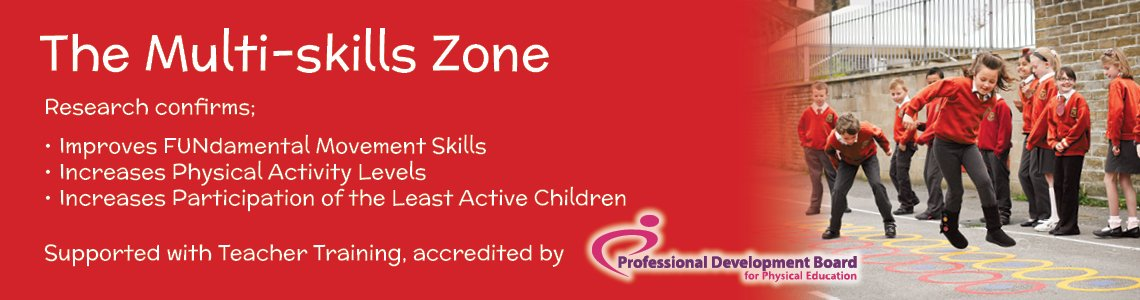 Multi Skills Zones - School Sports Premium