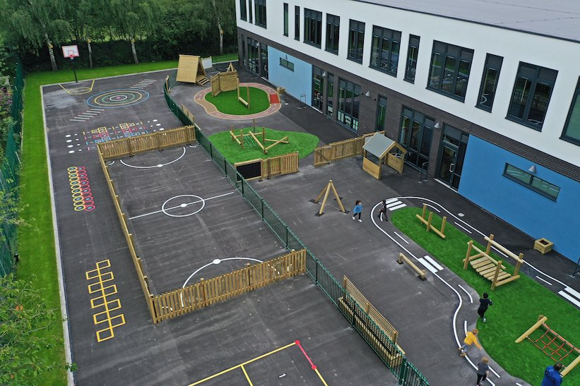 What makes a good school playground?