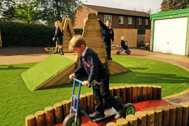 Outdoor Play for Key Worker and Vulnerable Children